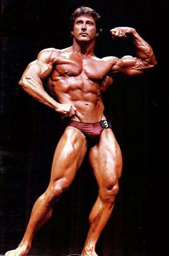 Frank Zane, 3-time Mr. Olympia, also known as 'The Chemist'.